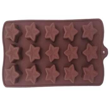 قالب شکلات طرح ستاره کد n01