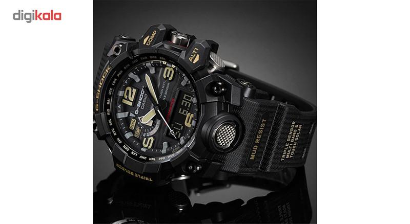 ساعت مچی عقربه ای مردانه کاسیو جی شاک مدل GWG-1000-1ADR