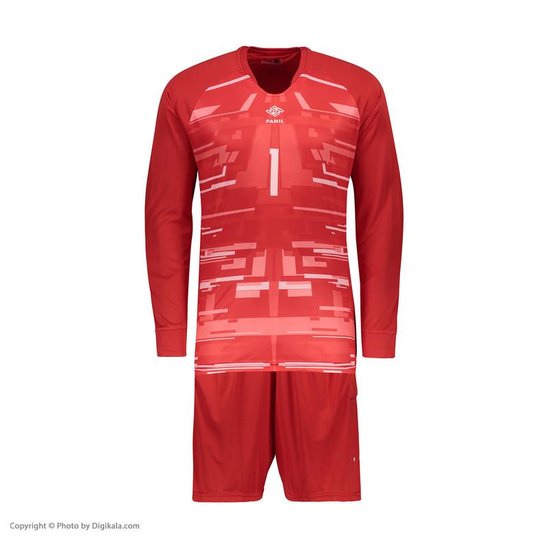 ست پیراهن و شورت ورزشی پسرانه پانیل کد 3529R