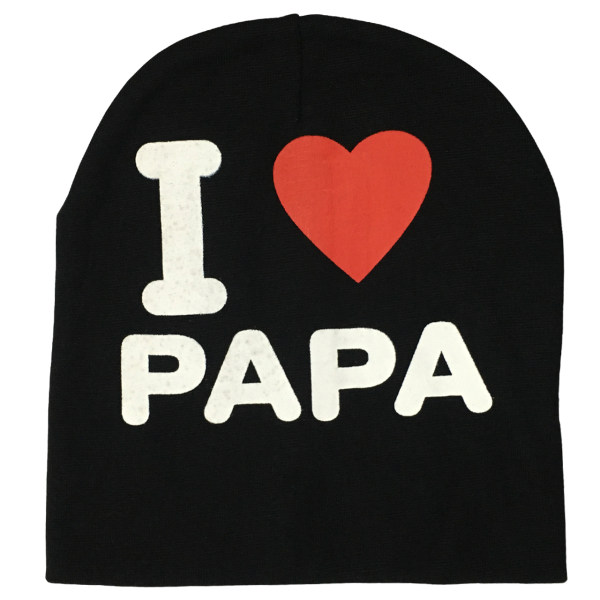 کلاه بچگانه مدل i love papa