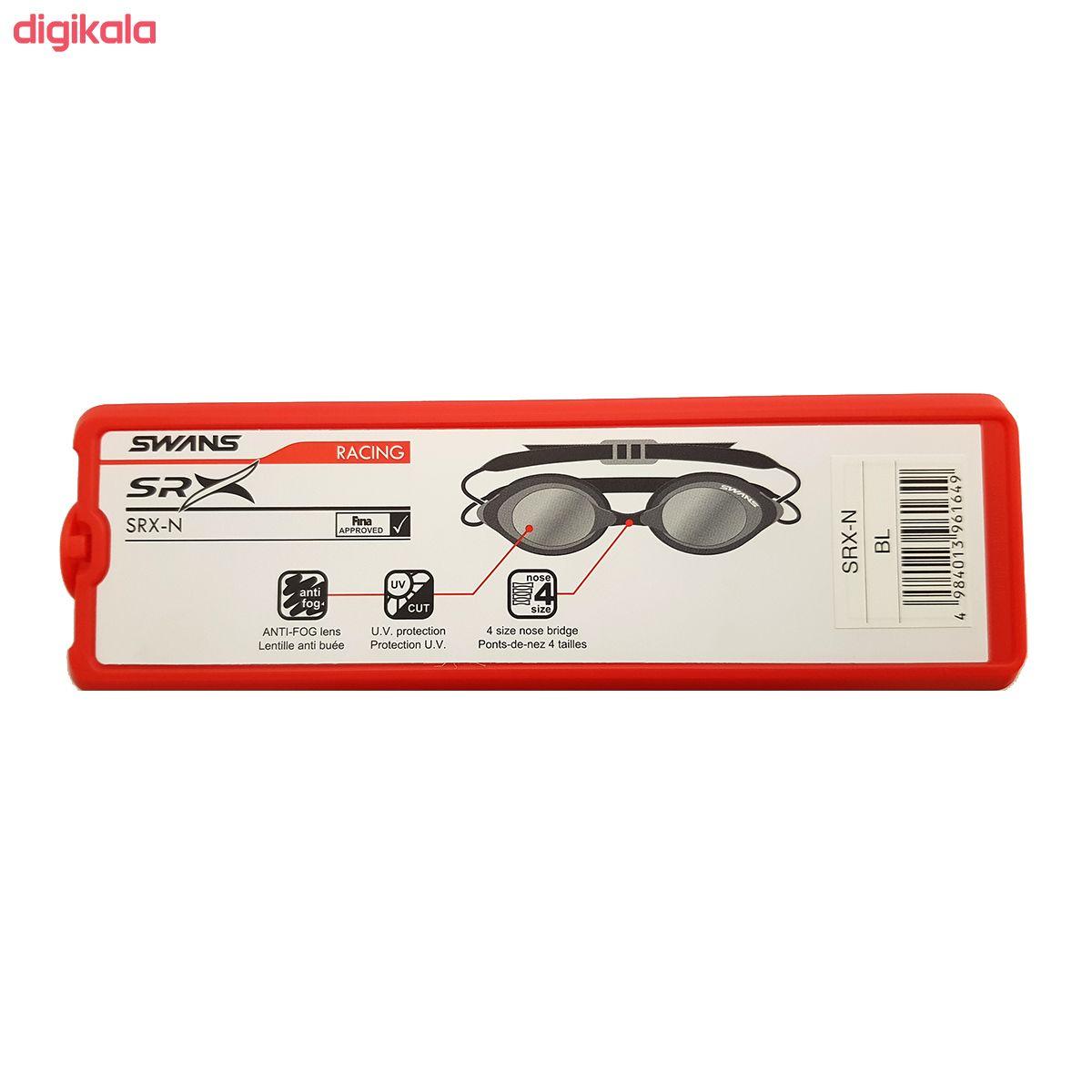 عینک شنا سوانز مدل SRX-N-BL main 1 3