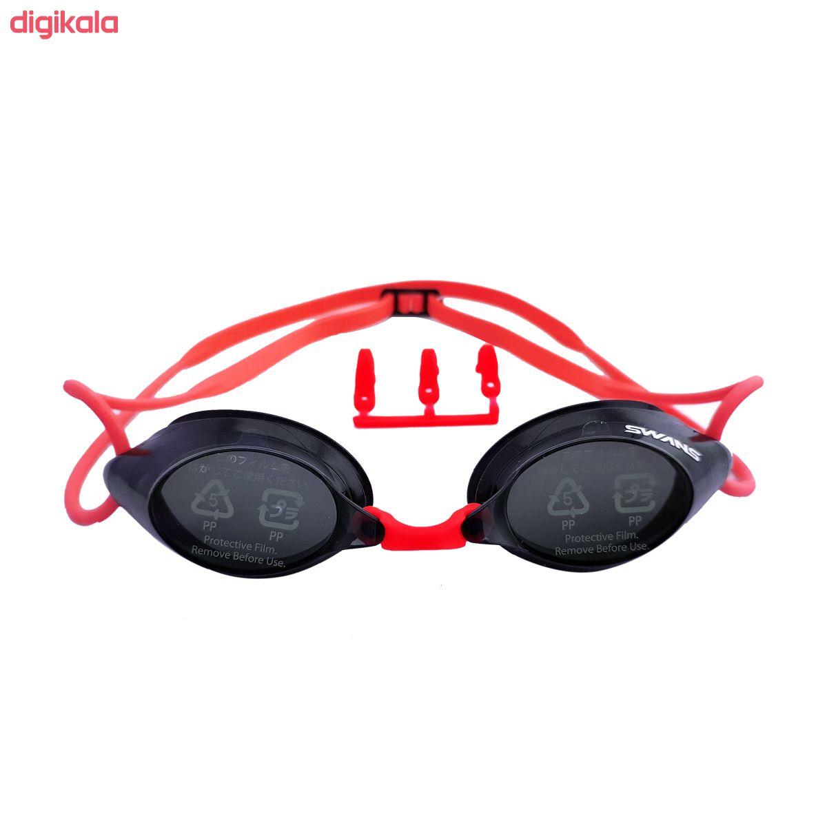 عینک شنا سوانز مدل SRX-N-BKR main 1 1