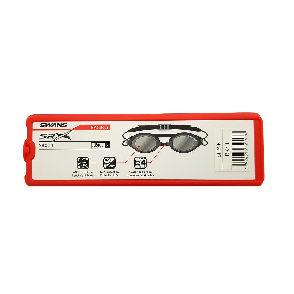 عینک شنا سوانز مدل SRX-N-BKR main 1 3