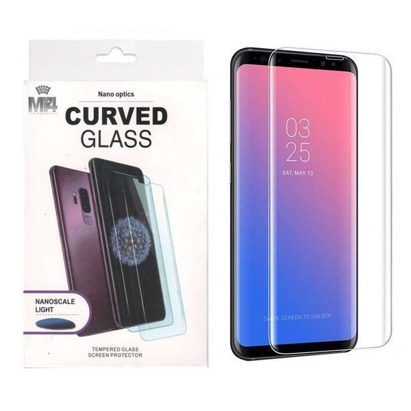 محافظ صفحه نمایش یووی لایت ام تی چهار مدل AS131009002 مناسب برای گوشی موبایل سامسونگ Galaxy S9 Plus