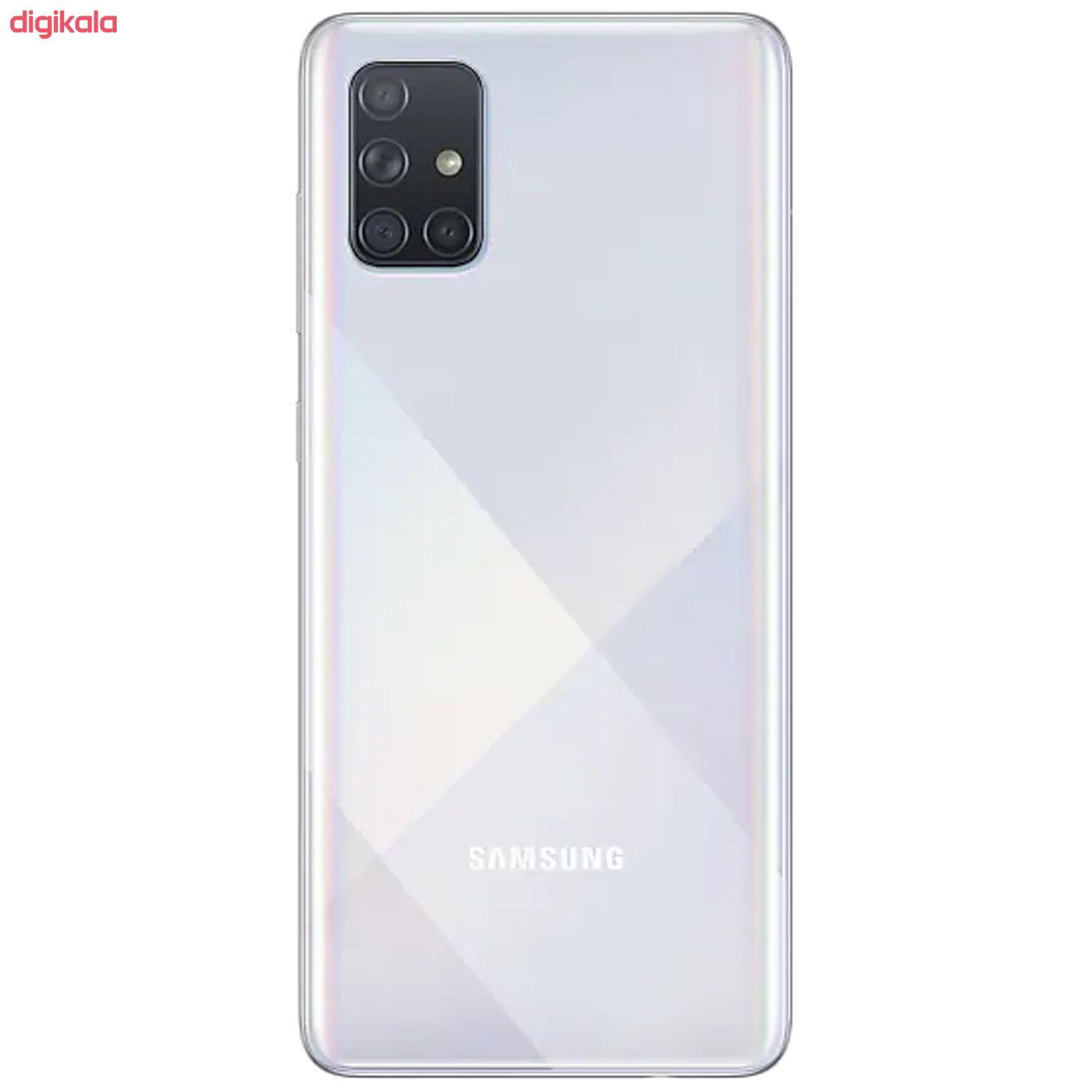 گوشی موبایل سامسونگ مدل Galaxy A71 SM-A715F/DS دو سیمکارت ظرفیت 128 گیگابایت همراه با رم 8 گیگابایت main 1 9