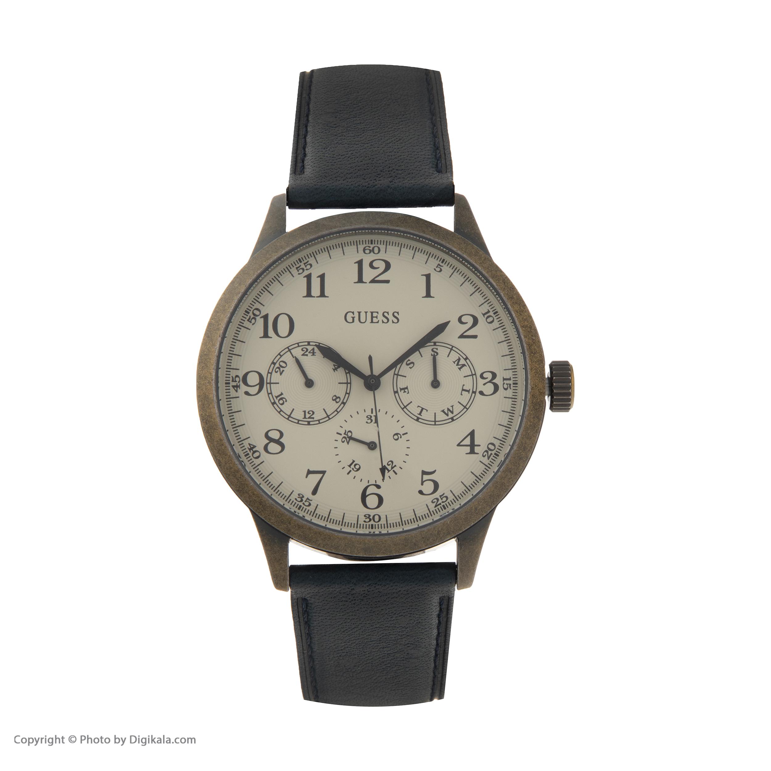 کد تخفیف                                      ساعت مچی عقربه ای مردانه گس مدل W1101G2
