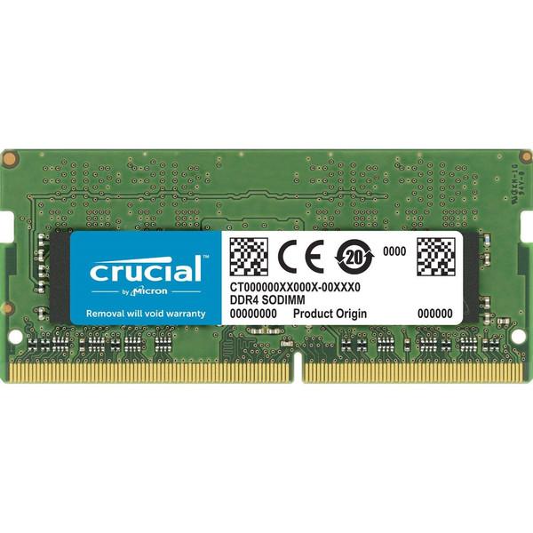 رم لپ تاپ DDR4 تک کاناله 2666 مگاهرتز CL19 کروشیال مدل CT4G4SFS8266 ظرفیت 4 گیگابایت