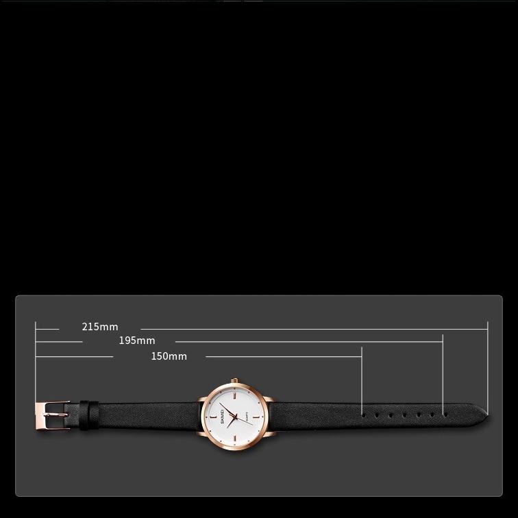 ساعت مچی عقربه ای زنانه اسکمی مدل 1457BLCWH              ارزان