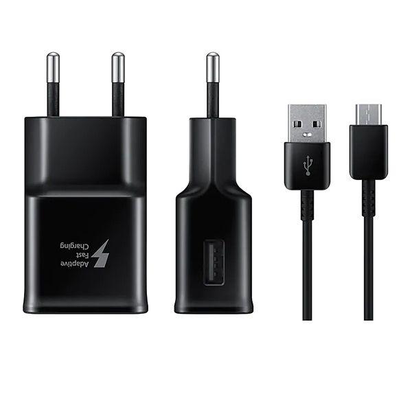 شارژر دیواری سامسونگ مدل EP-TA20EBE به همراه کابل تبدیل USB-C main 1 5