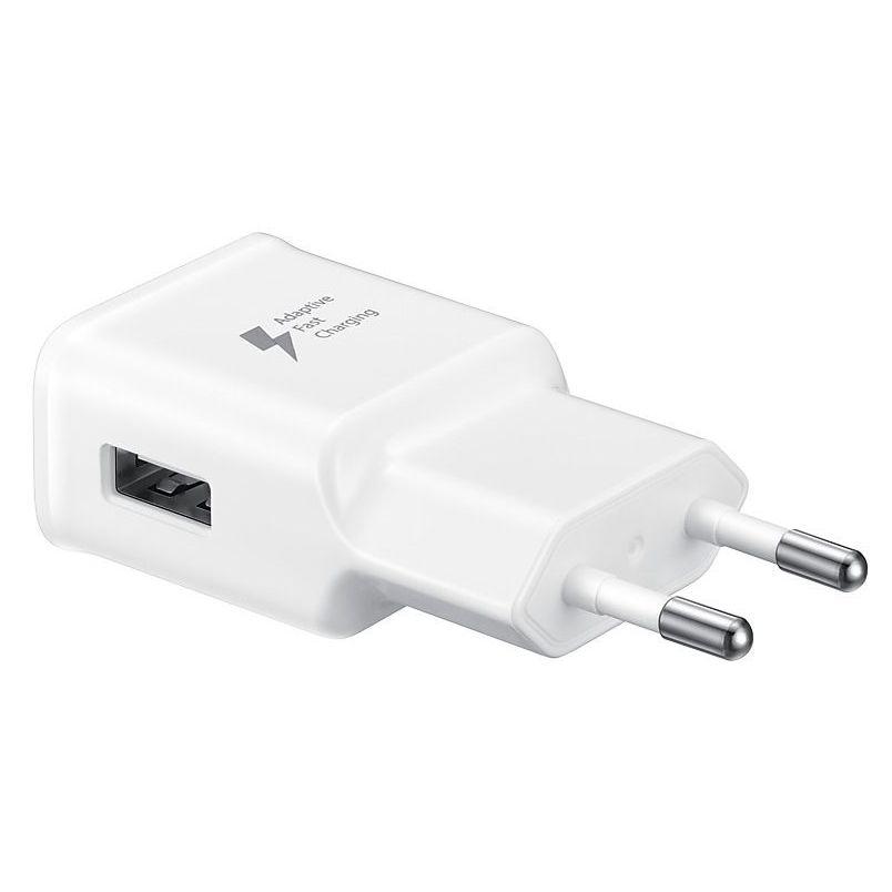 شارژر دیواری سامسونگ مدل EP-TA20EBE به همراه کابل تبدیل USB-C main 1 8