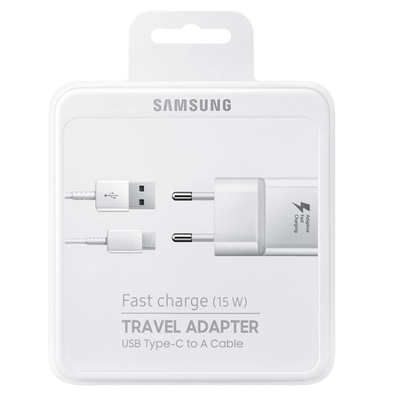 شارژر دیواری سامسونگ مدل EP-TA20EBE به همراه کابل تبدیل USB-C main 1 10