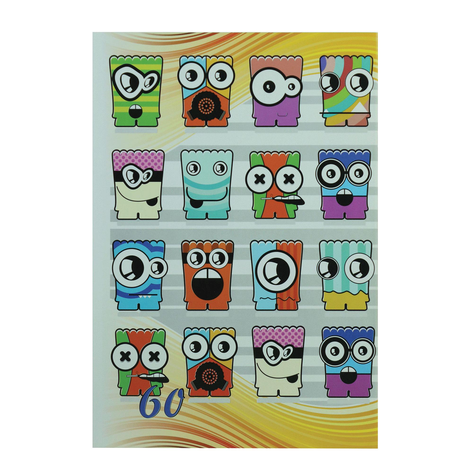 خرید                      دفتر مشق 60 برگ پارسیان کد MA-Emoji-60
