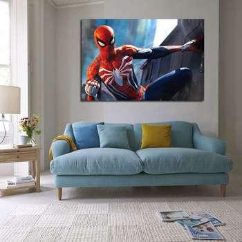 تابلو شاسی طرح مرد عنکبوتی مدل 81