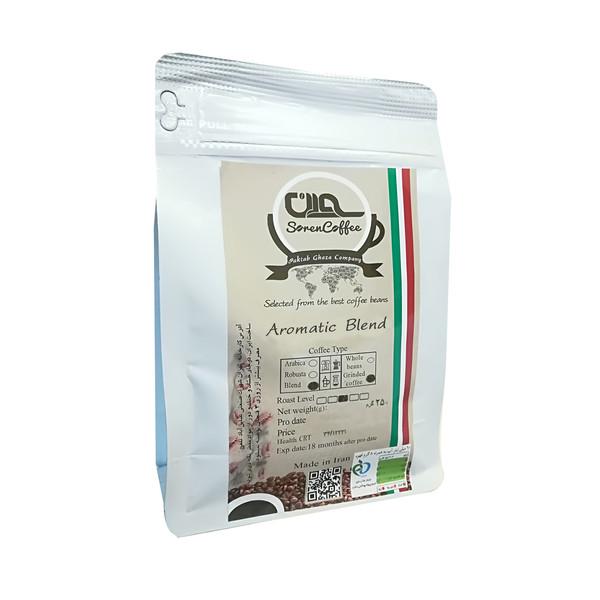 پودر قهوه اسپرسو آروماتیک بلند سورن - 250 گرم