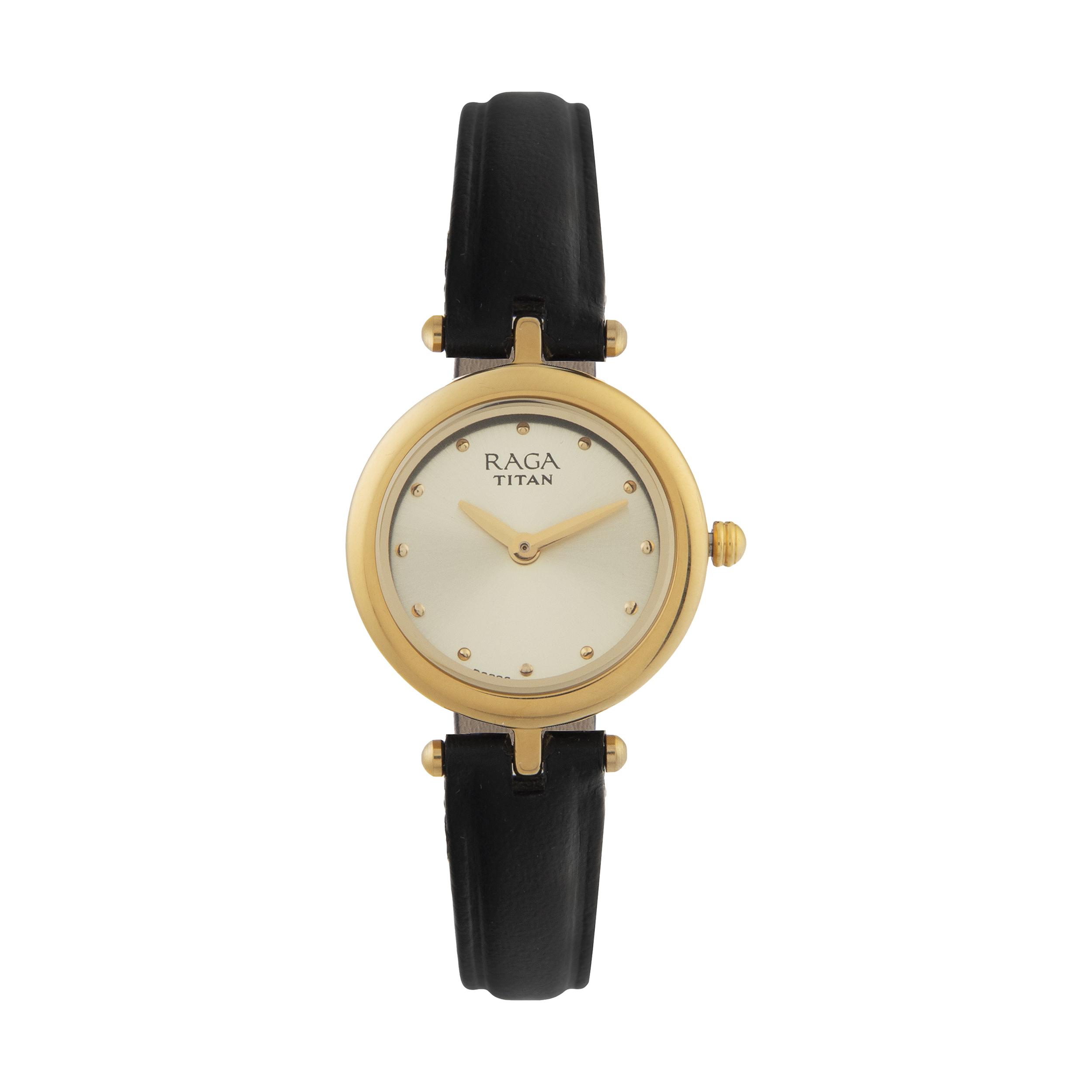 ساعت مچی عقربه ای زنانه تایتن مدل T2553YL01