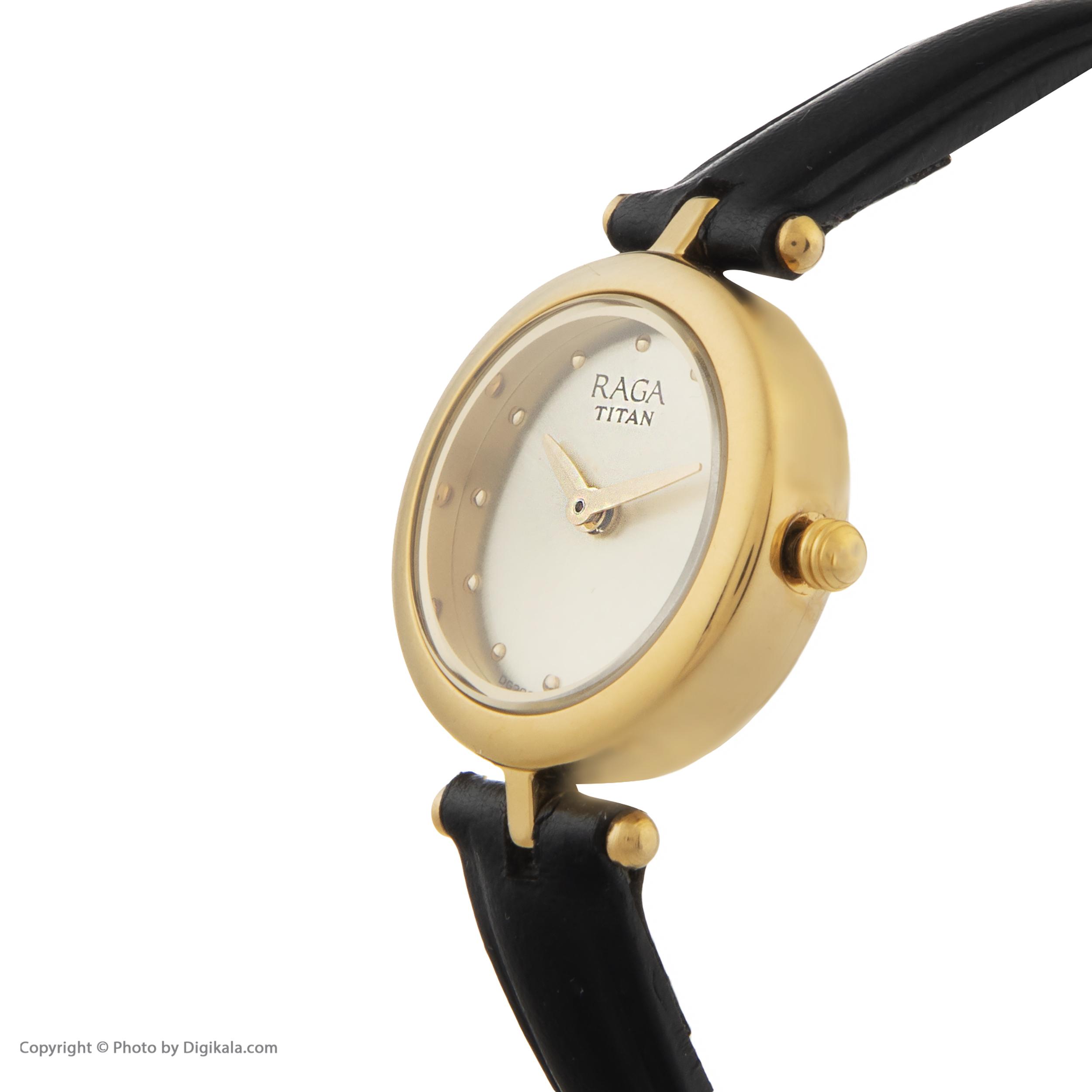 ساعت مچی  زنانه تایتن مدل T2553YL01              اصل