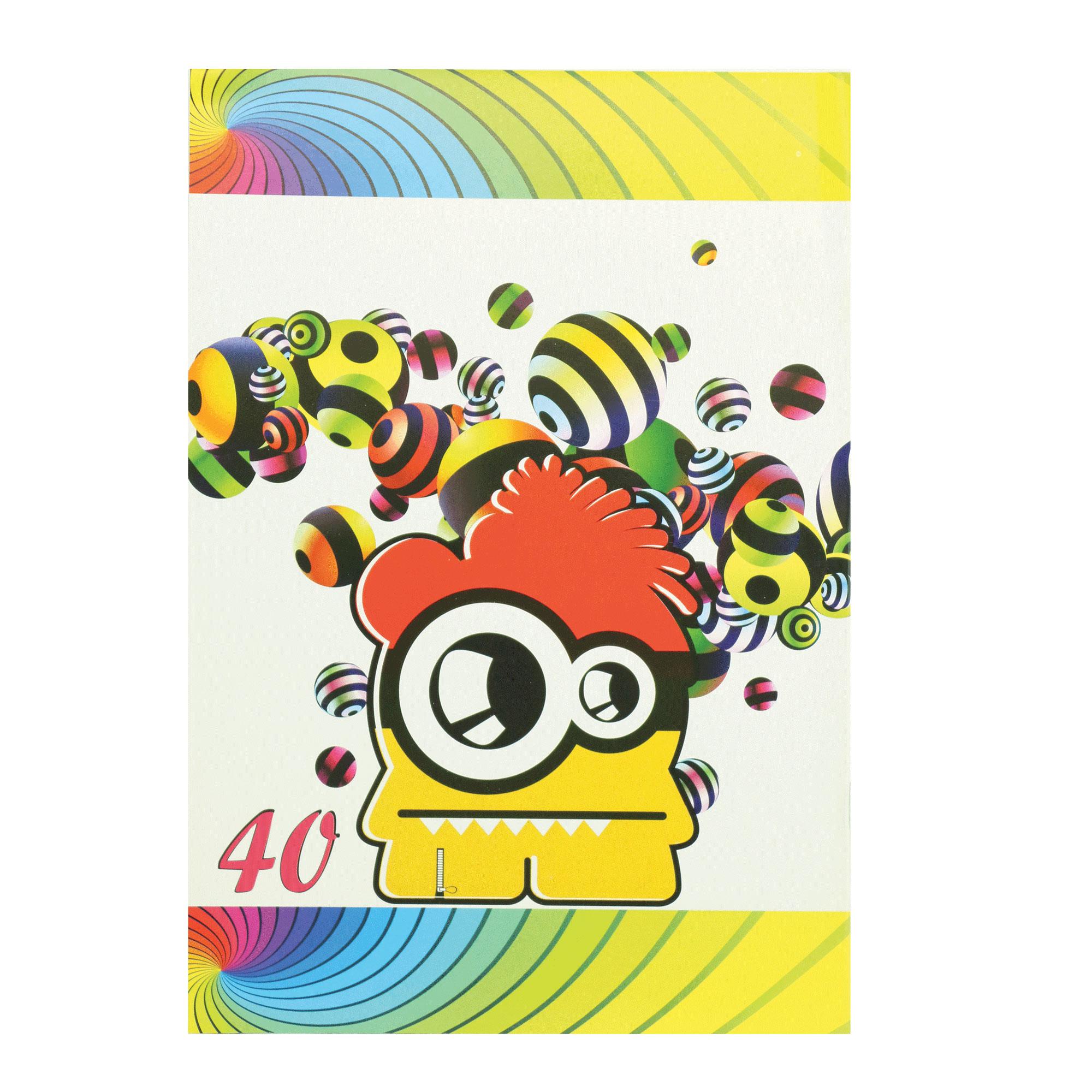 خرید                      دفتر مشق 40 برگ پارسیان کد MA-Emoji-40