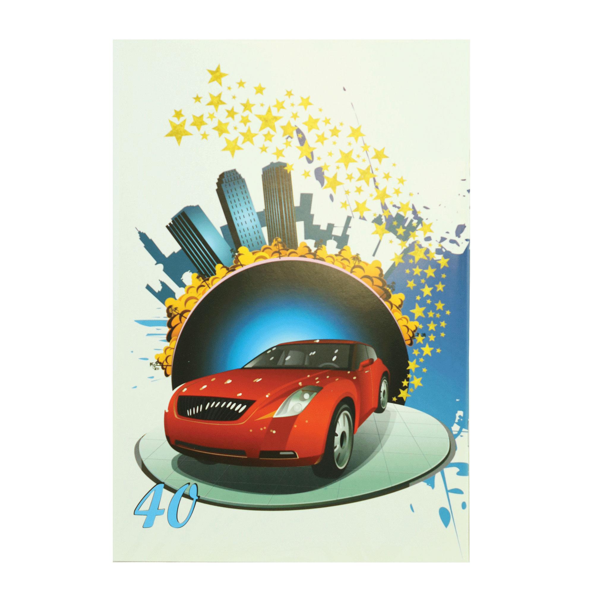 خرید                      دفتر مشق 40 برگ پارسیان کد MA-Car-40