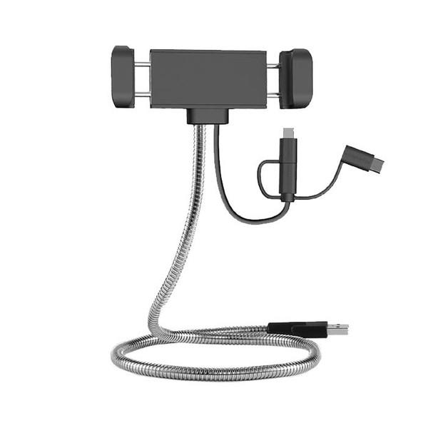 کابل تبدیل USB به microUSB/USB-C/لایتنینگ راو پاور مدل RP-CB015 طول 0.6 متر