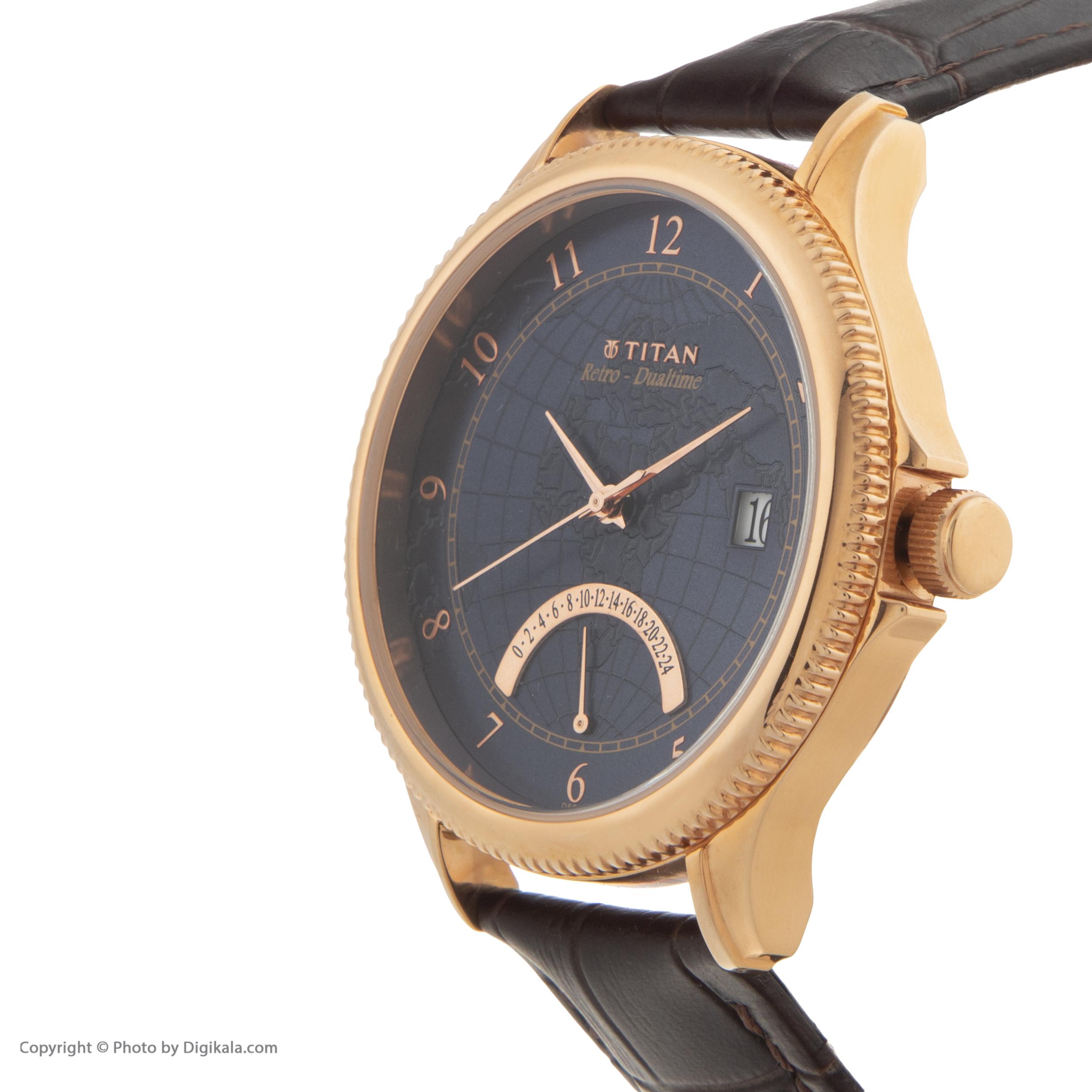 ساعت مچی  مردانه تایتن مدل T1704WL01              اصل