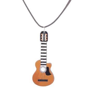 گردنبند طرح گیتار کد 206