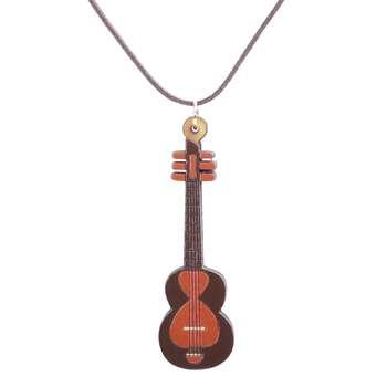 گردنبند طرح تار مدل موسیقی کد207