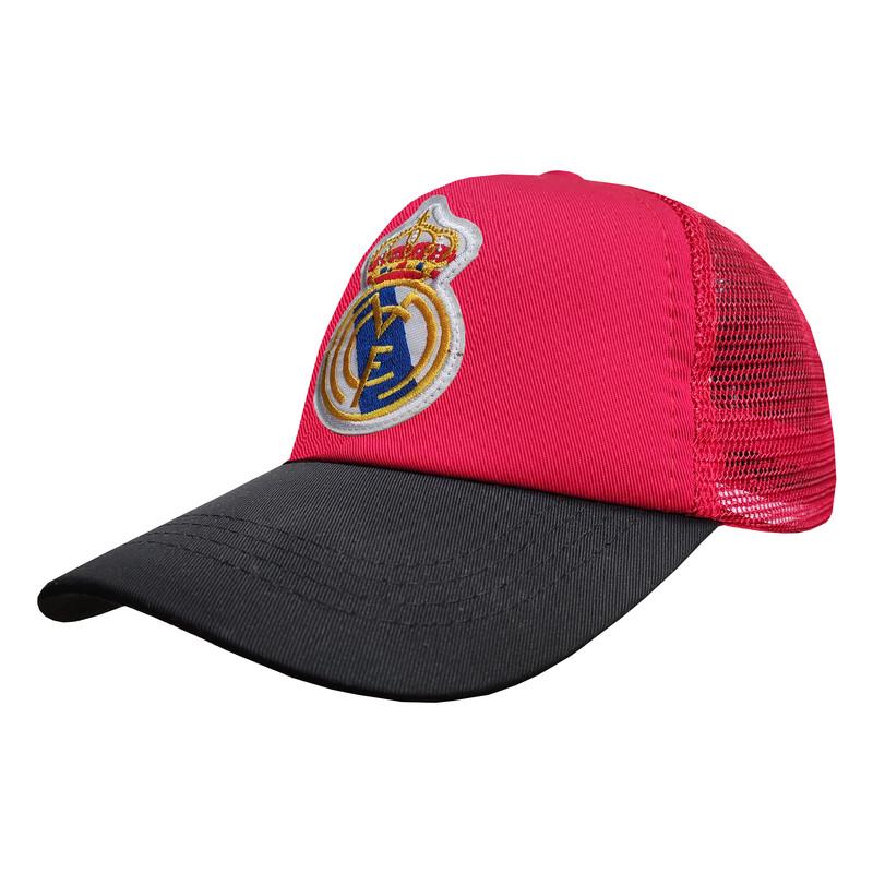 کلاه کپ پسرانه طرح رئال مادرید کد PT-30376 رنگ قرمز