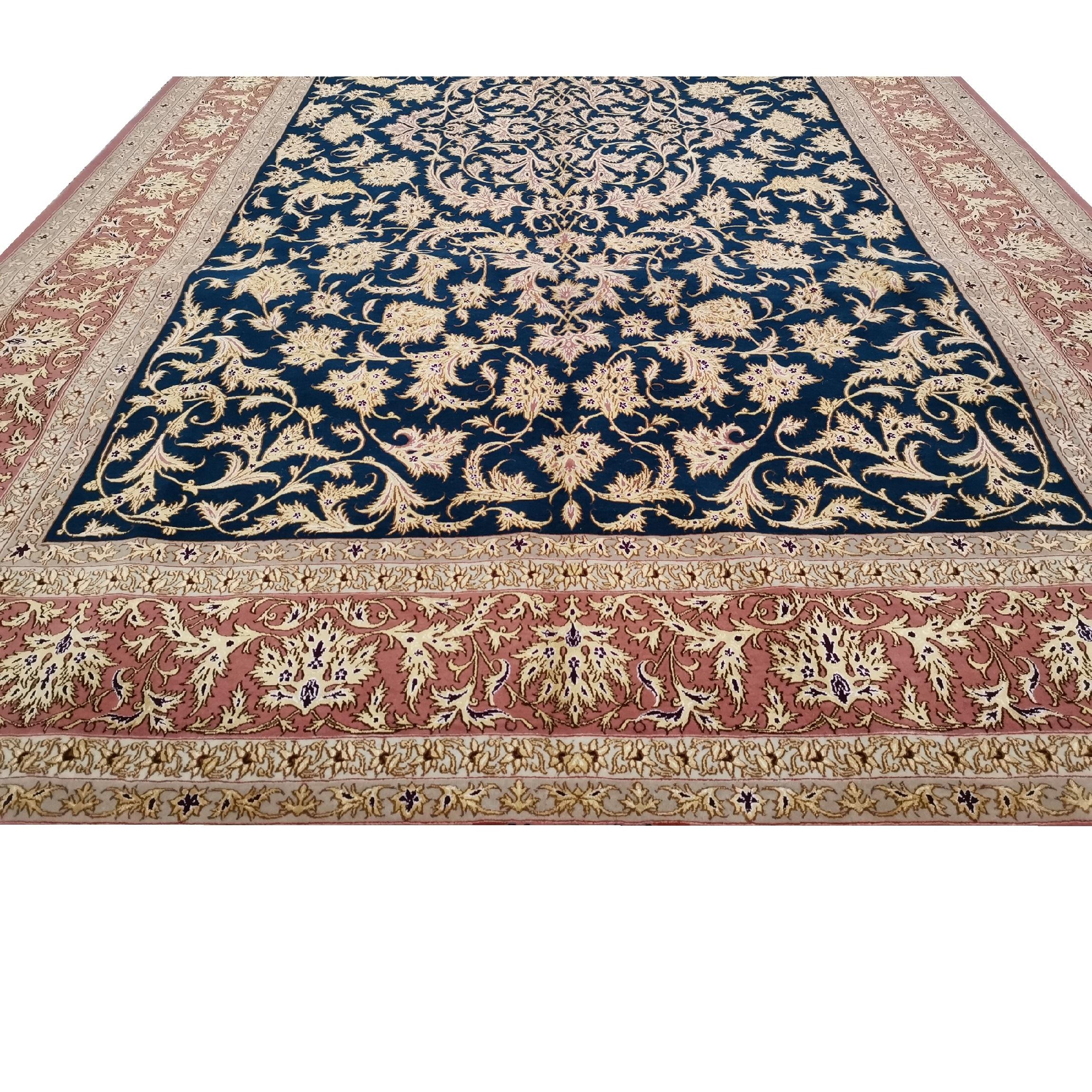 فرش دستبافت شش متری فروغی کد 139911 یک جفت