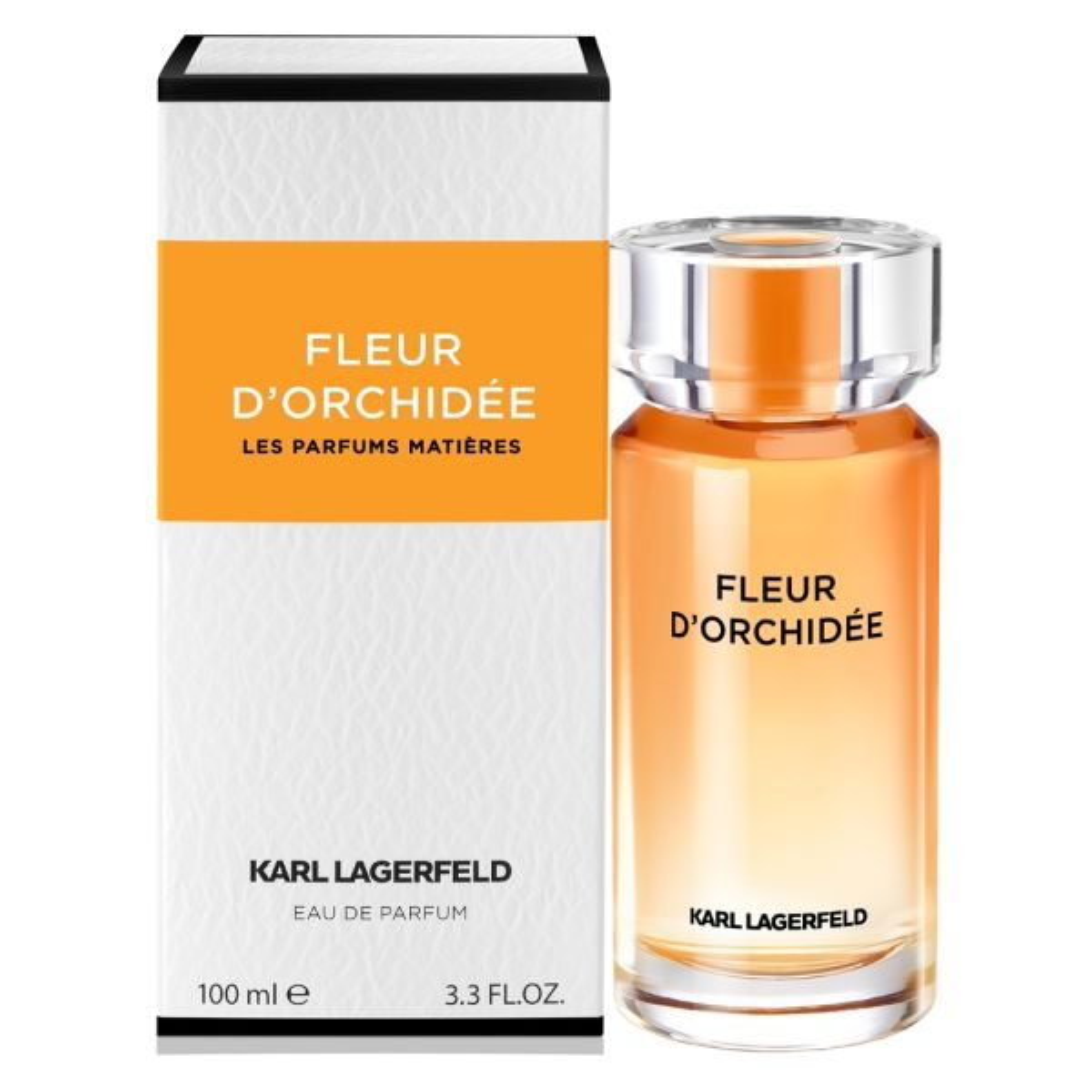 ادو پرفیوم زنانه کارل لاگرفلد مدل  FLEUR D ORCHIDEE حجم 50 میلی لیتر