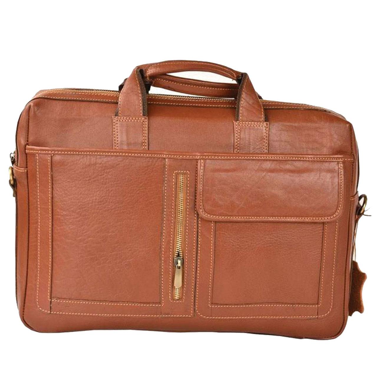 کیف اداری مردانه پارینه چرم مدل L67
