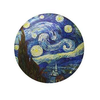 پیکسل طرح شب پر ستاره ونسان ونگوگ کد 10112