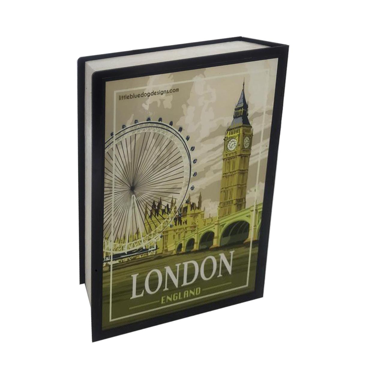 جعبه هدیه طرح کتاب لندن
