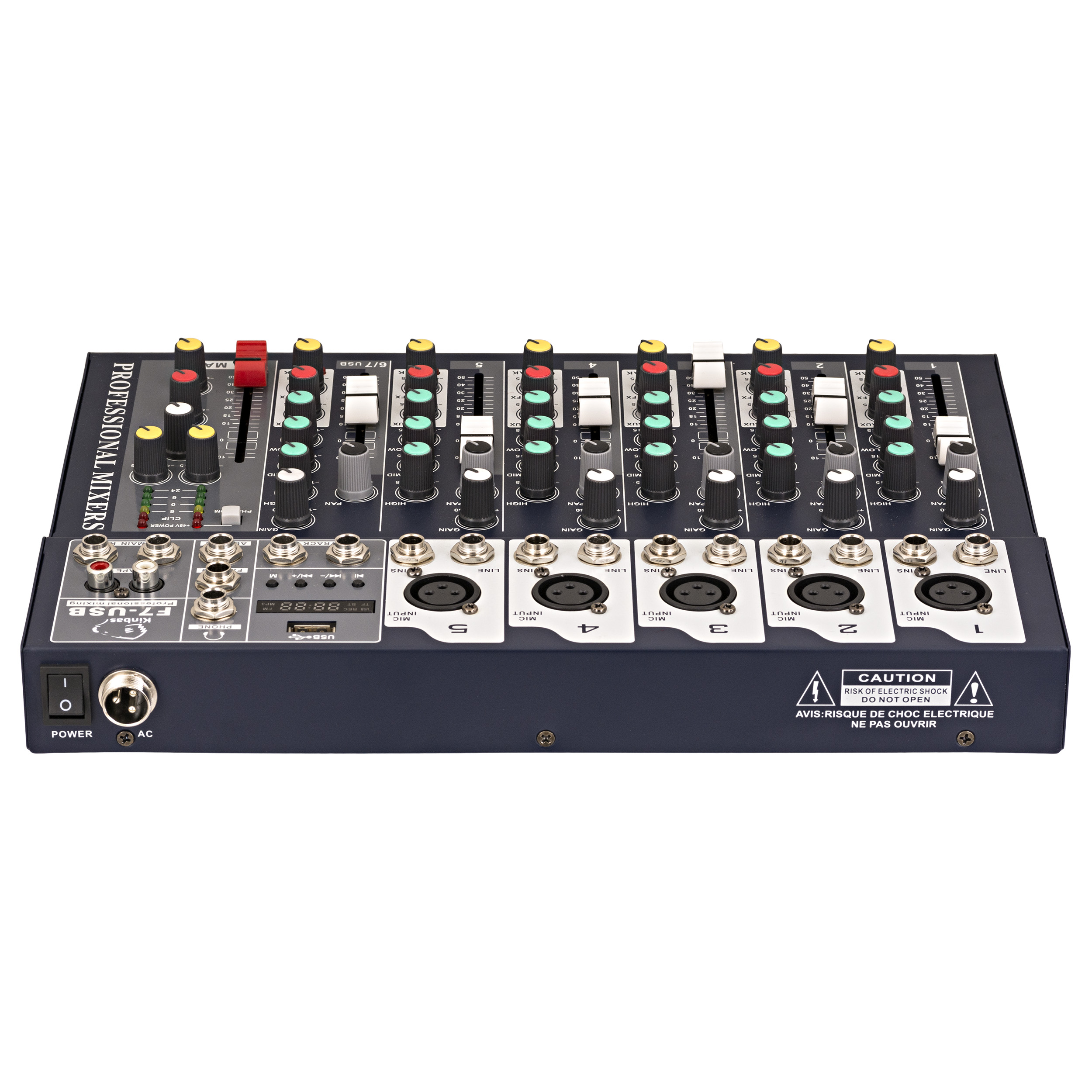 میکسر صدا کینباس مدل F7-USB
