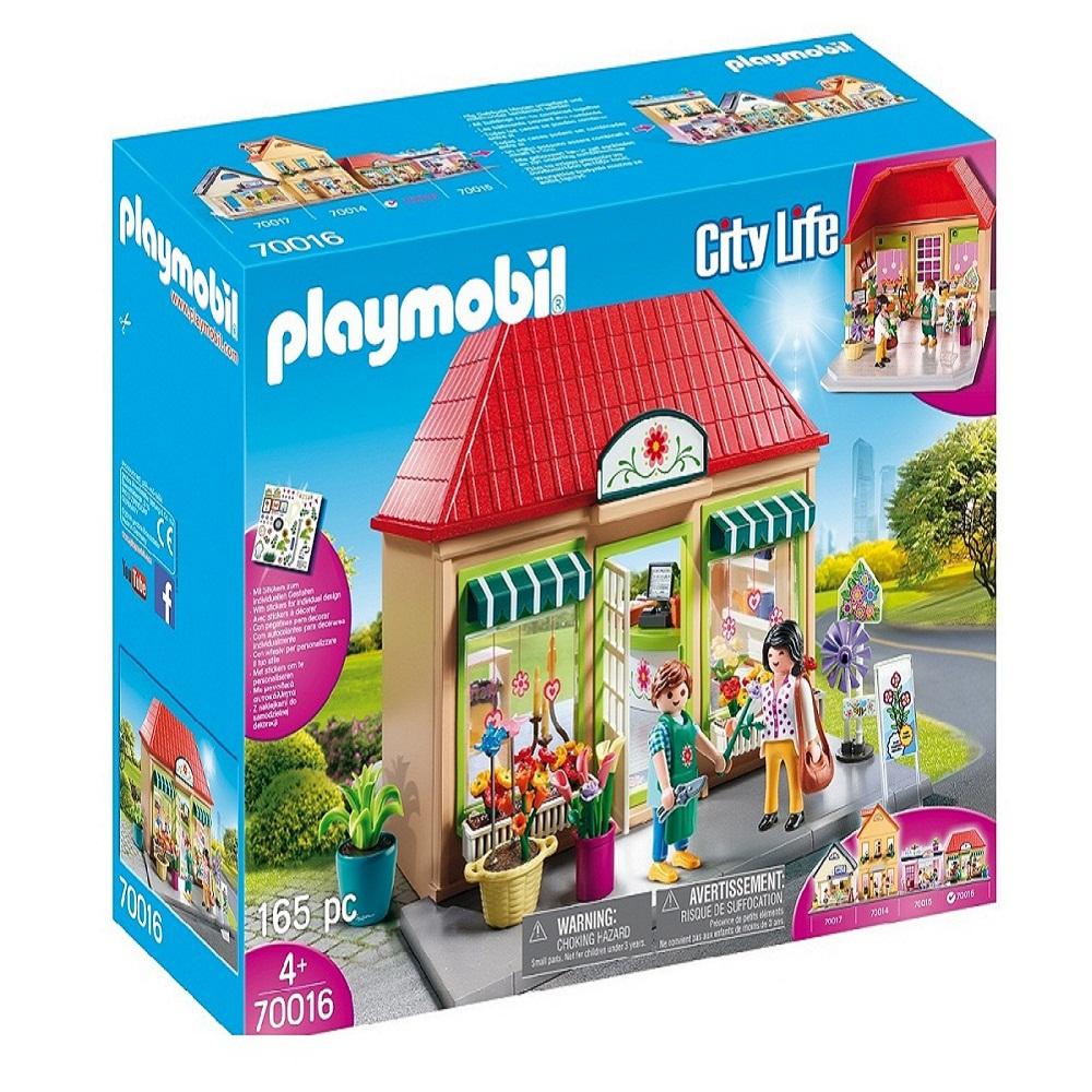 ساختنی پلی موبیل مدل 70016 City Life Home