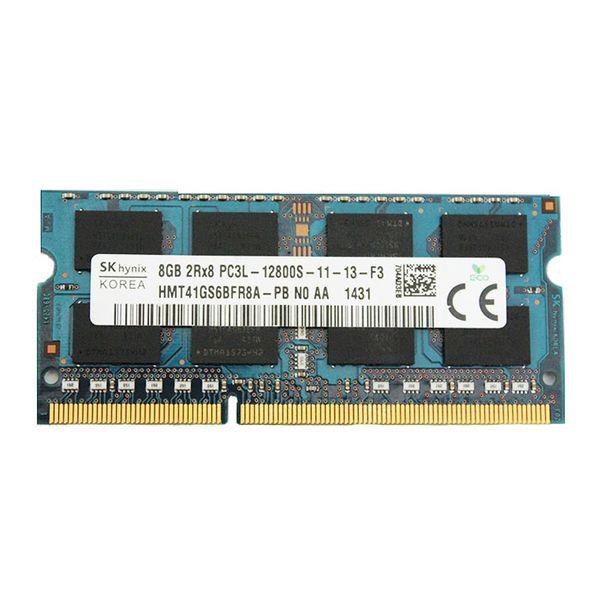 رم لپ تاپ DDR3L تک کاناله 1600 مگاهرتز CL11 اس کی هاینیکس مدل HMT41GS6BFR8A ظرفیت 8 گیگابایت