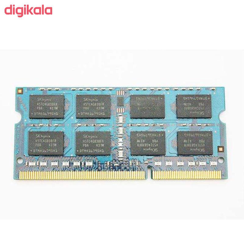 رم لپ تاپ DDR3L تک کاناله 1600 مگاهرتز CL11 اس کی هاینیکس مدل HMT41GS6BFR8A ظرفیت 8 گیگابایت main 1 1