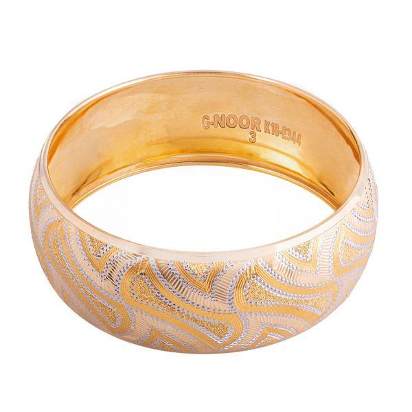 النگو طلا 18 عیار زنانه کد AL01G-2