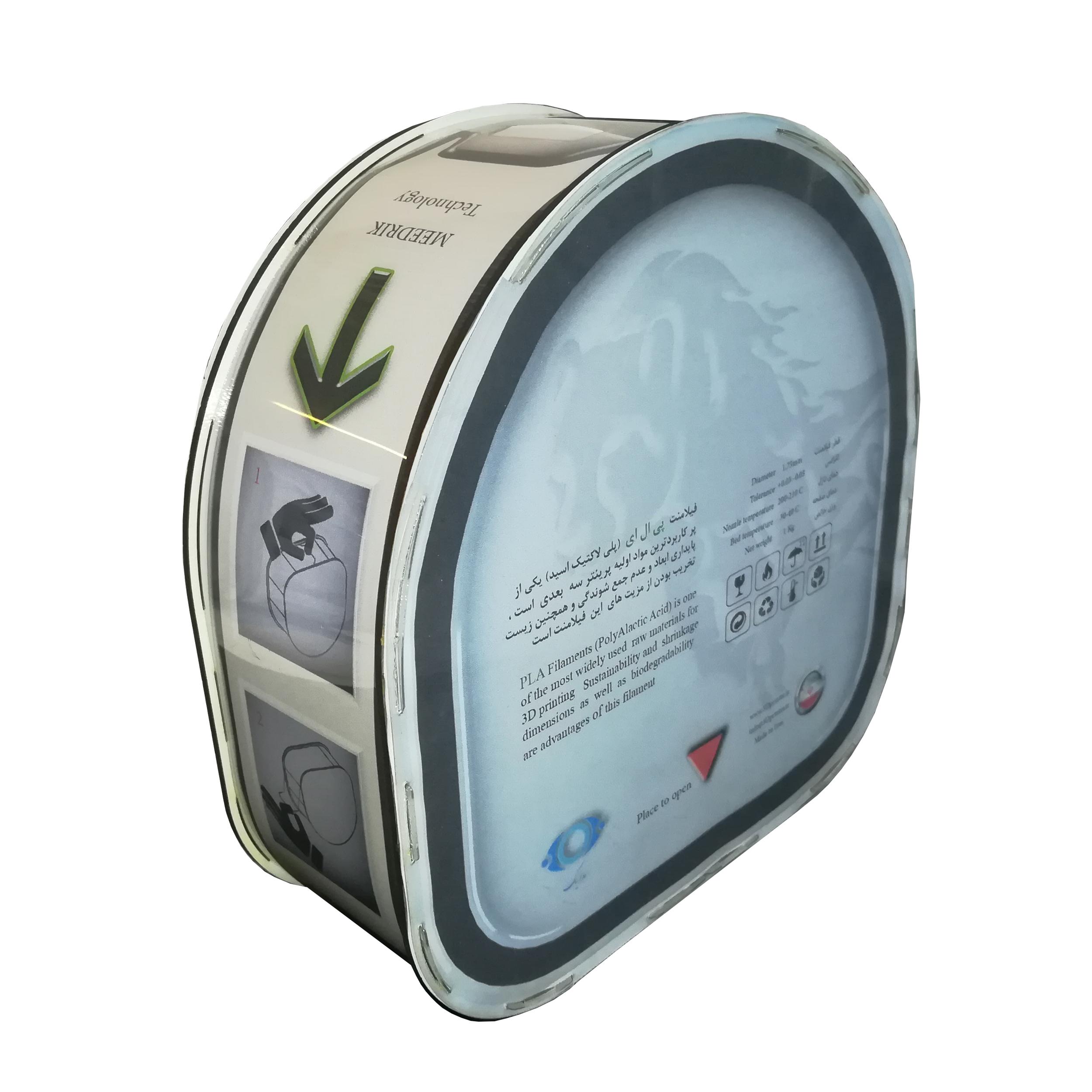 قیمت                      فیلامنت PLA پرینتر سه بعدی مدریک مدل MPS09 قطر 1.75 میلی متر 1 کیلوگرم