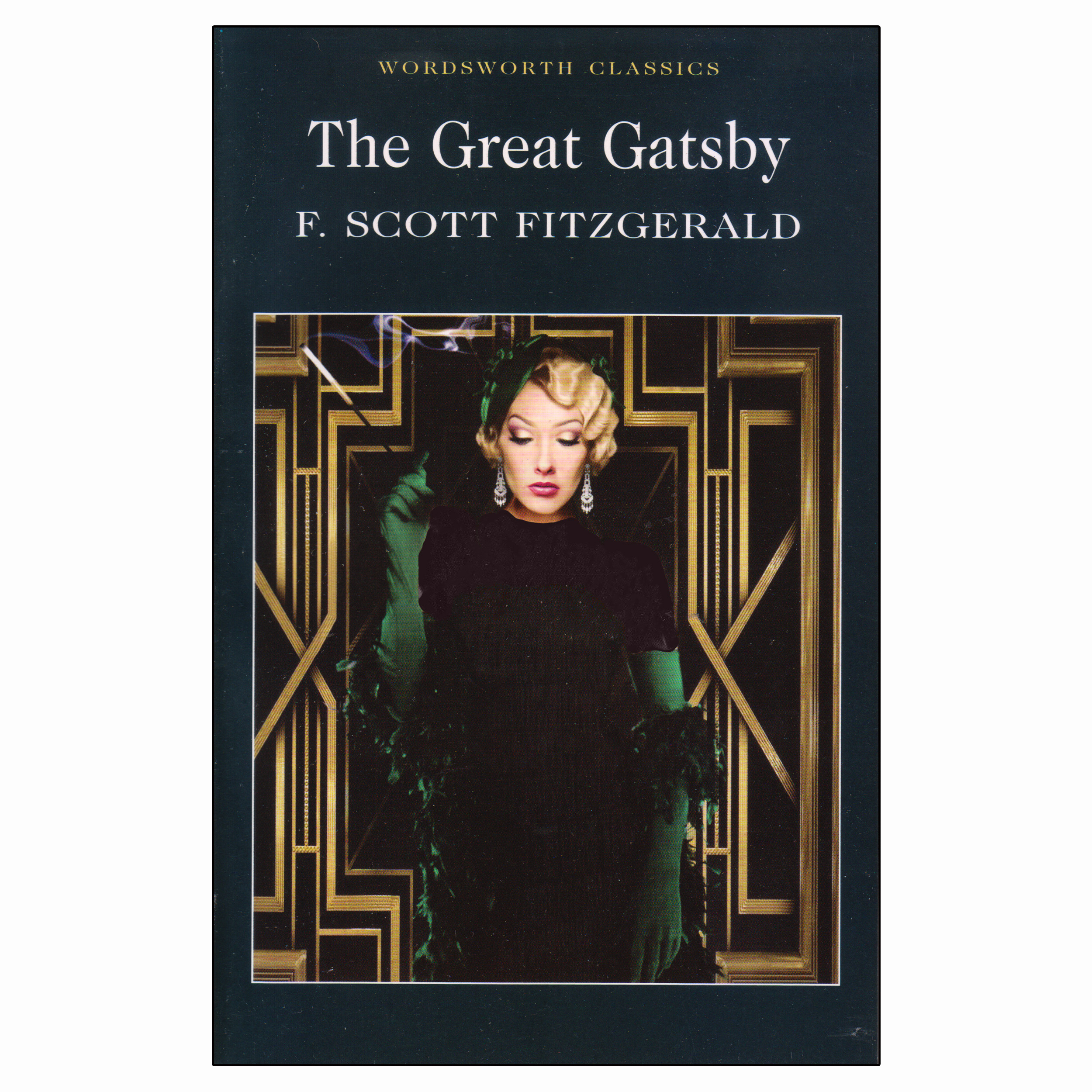 کتاب The Great Gatsby اثر F. Scott Fitzgerald انتشارات Wordsworth Classics