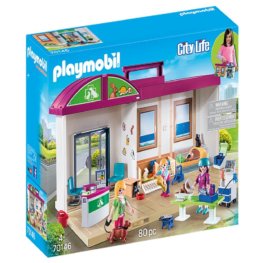 ساختنی پلی موبیل مدل 70146 Figuras y Juegos de contrucción, Color carbón