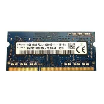 رم لپ تاپ DDR3L تک کاناله 1600 مگاهرتز CL11 اس کی هاینیکس مدل PC3L ظرفیت 4 گیگابایت