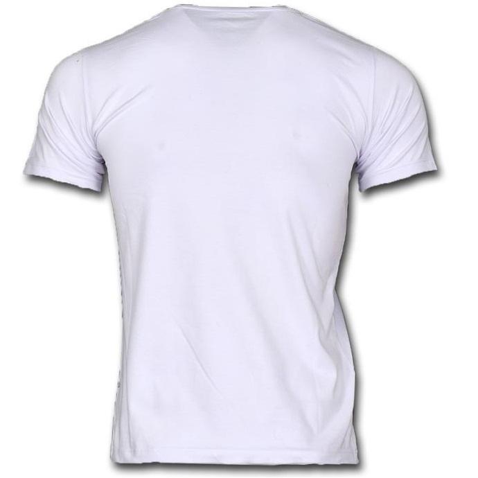 تیشرت آستین کوتاه مردانه مدل a39 رنگ سفید