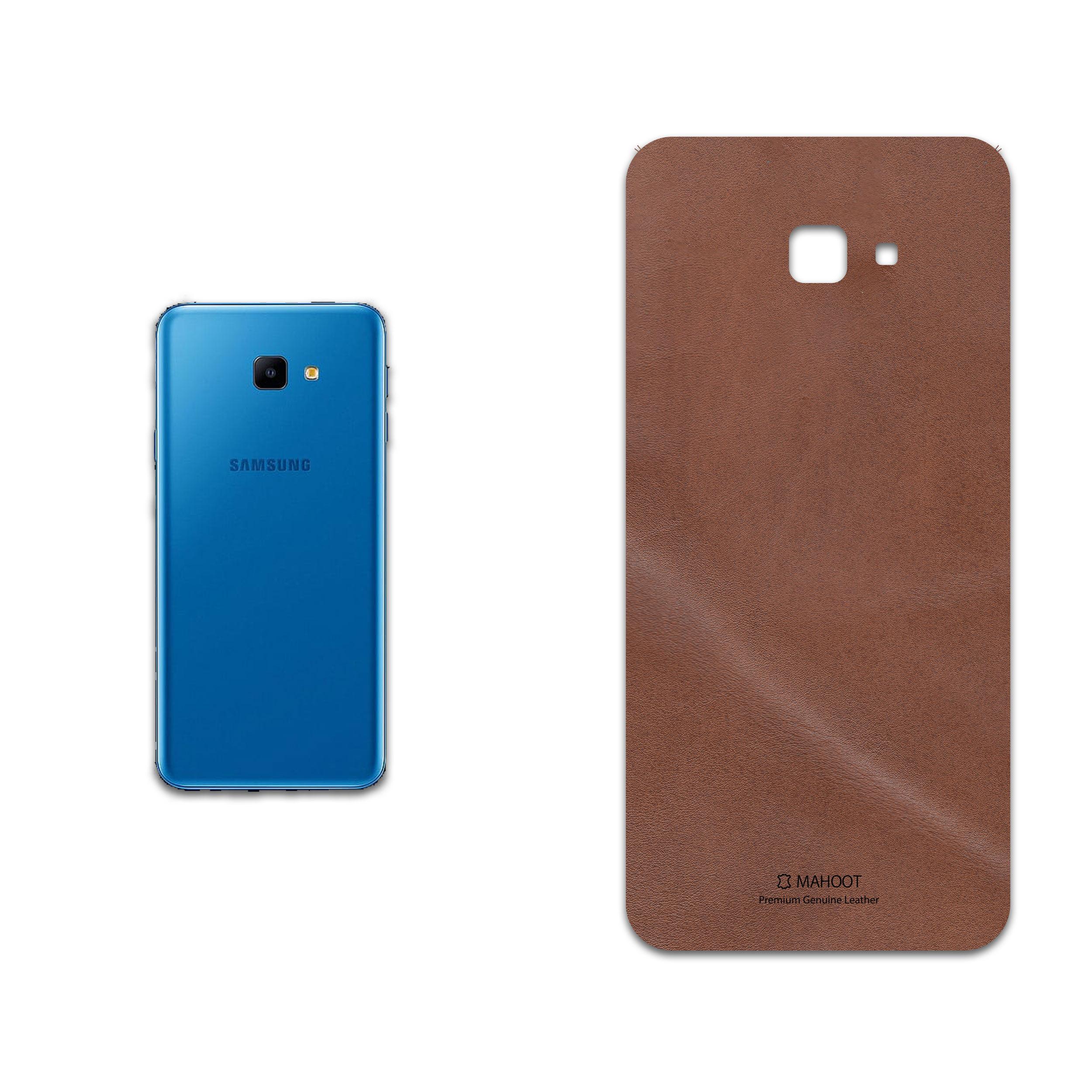 برچسب پوششی ماهوت مدل Matte-Natural-Leather مناسب برای گوشی موبایل سامسونگ Galaxy J4 Core