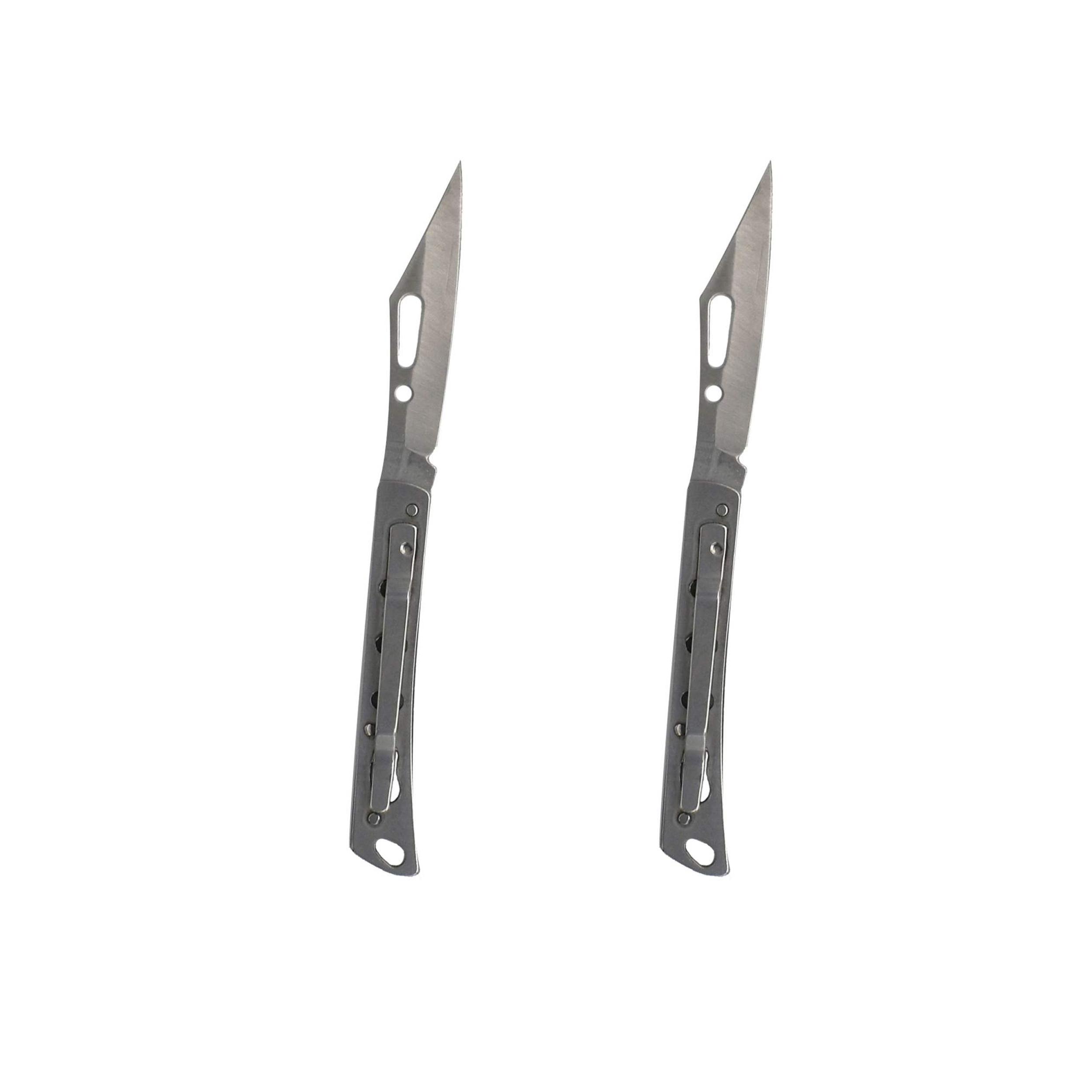 چاقو سفری کد MS-613 مجموعه 2 عددی
