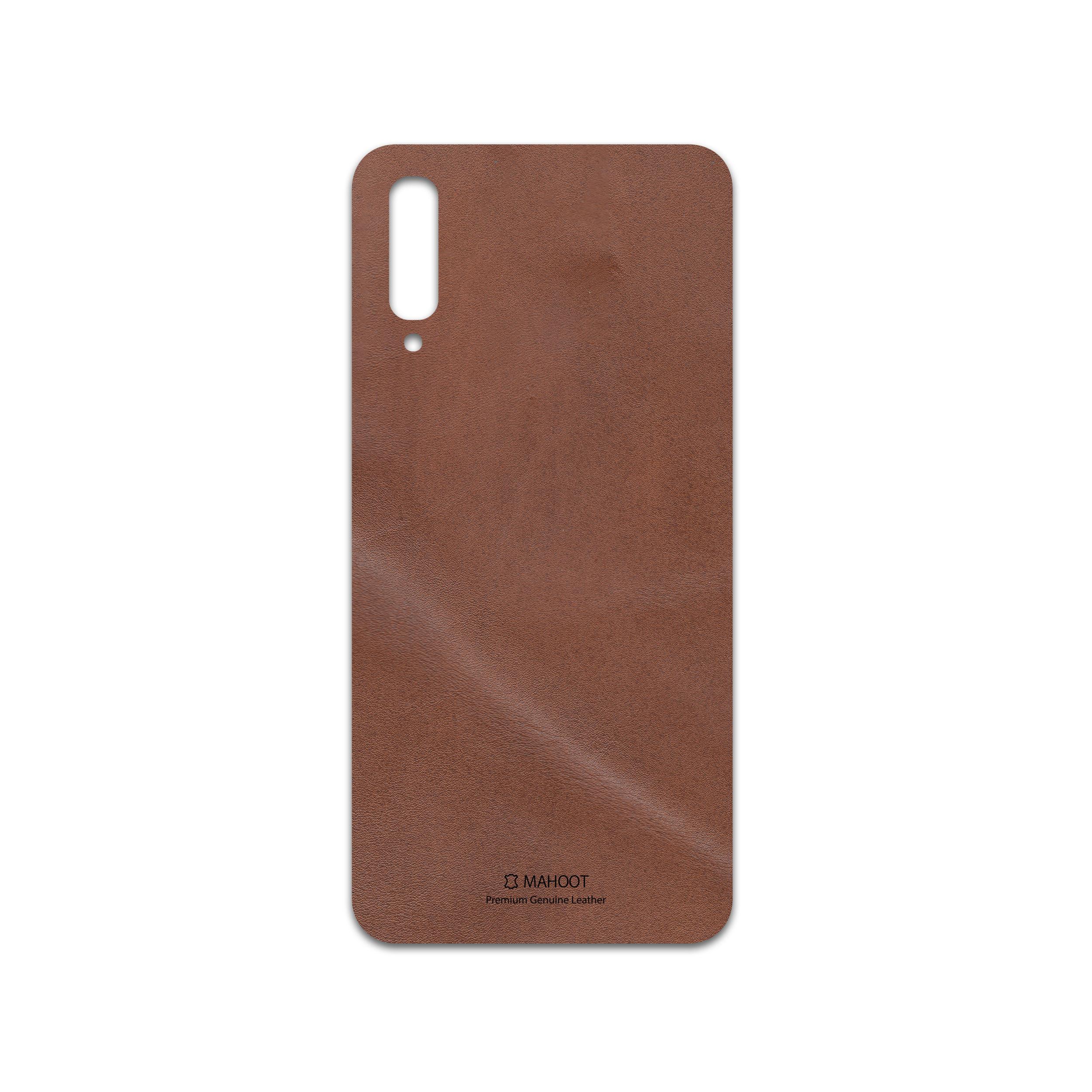 برچسب پوششی ماهوت مدل Matte-Natural-Leather مناسب برای گوشی موبایل سامسونگ Galaxy A50