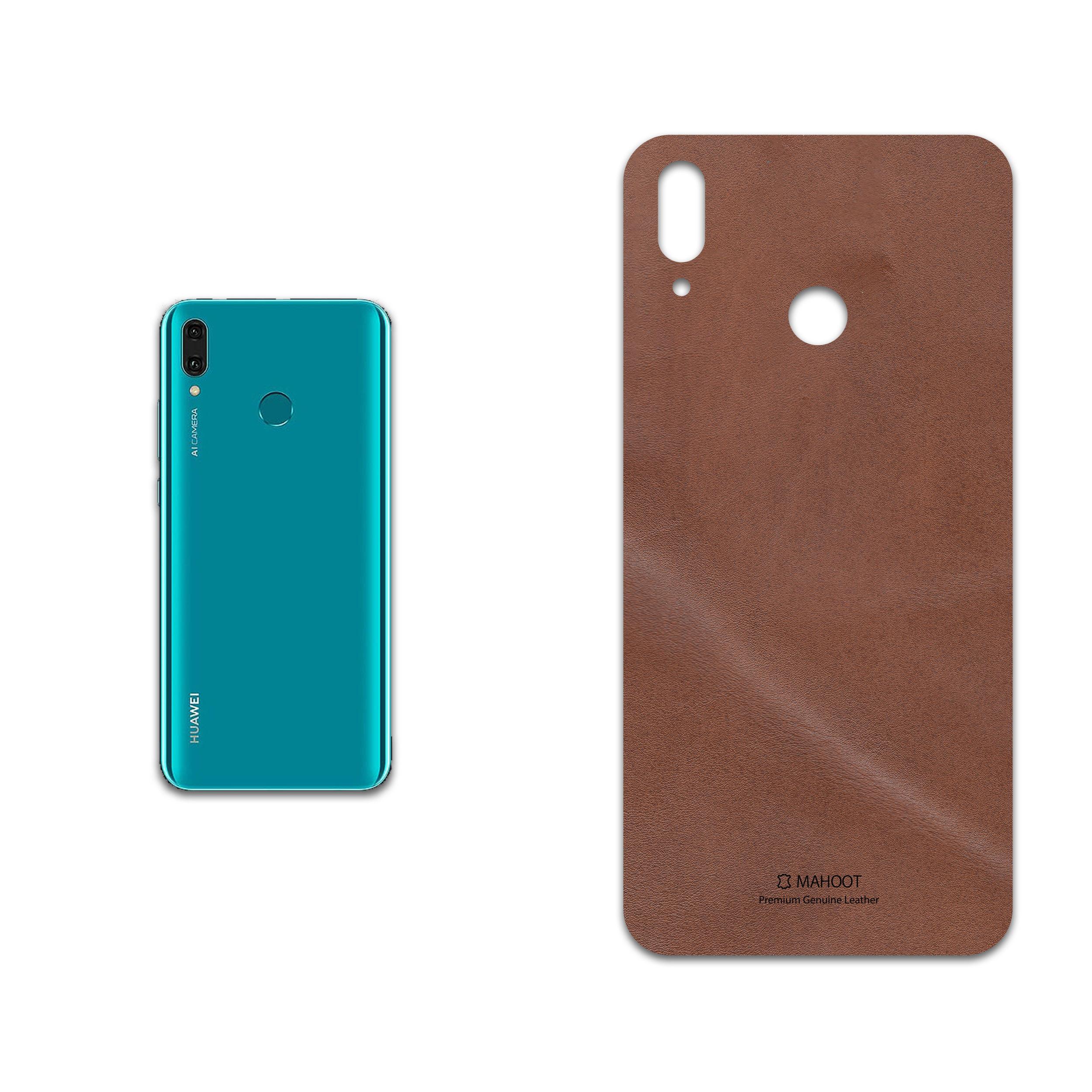 برچسب پوششی ماهوت مدل Matte-Natural-Leather مناسب برای گوشی موبایل هوآوی Y9 2019