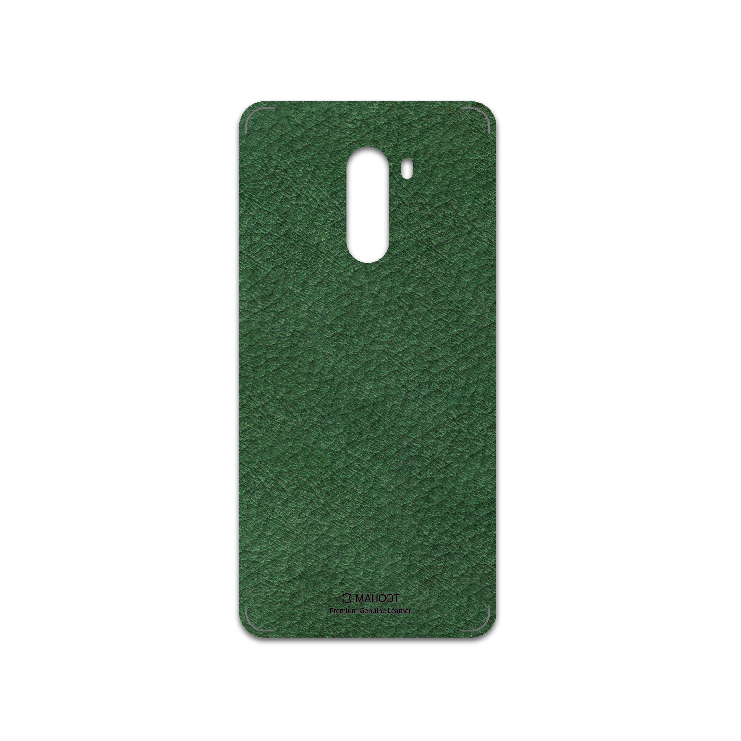 برچسب پوششی ماهوت مدل Green-Leather مناسب برای گوشی موبایل شیائومی POCOPHONE F1