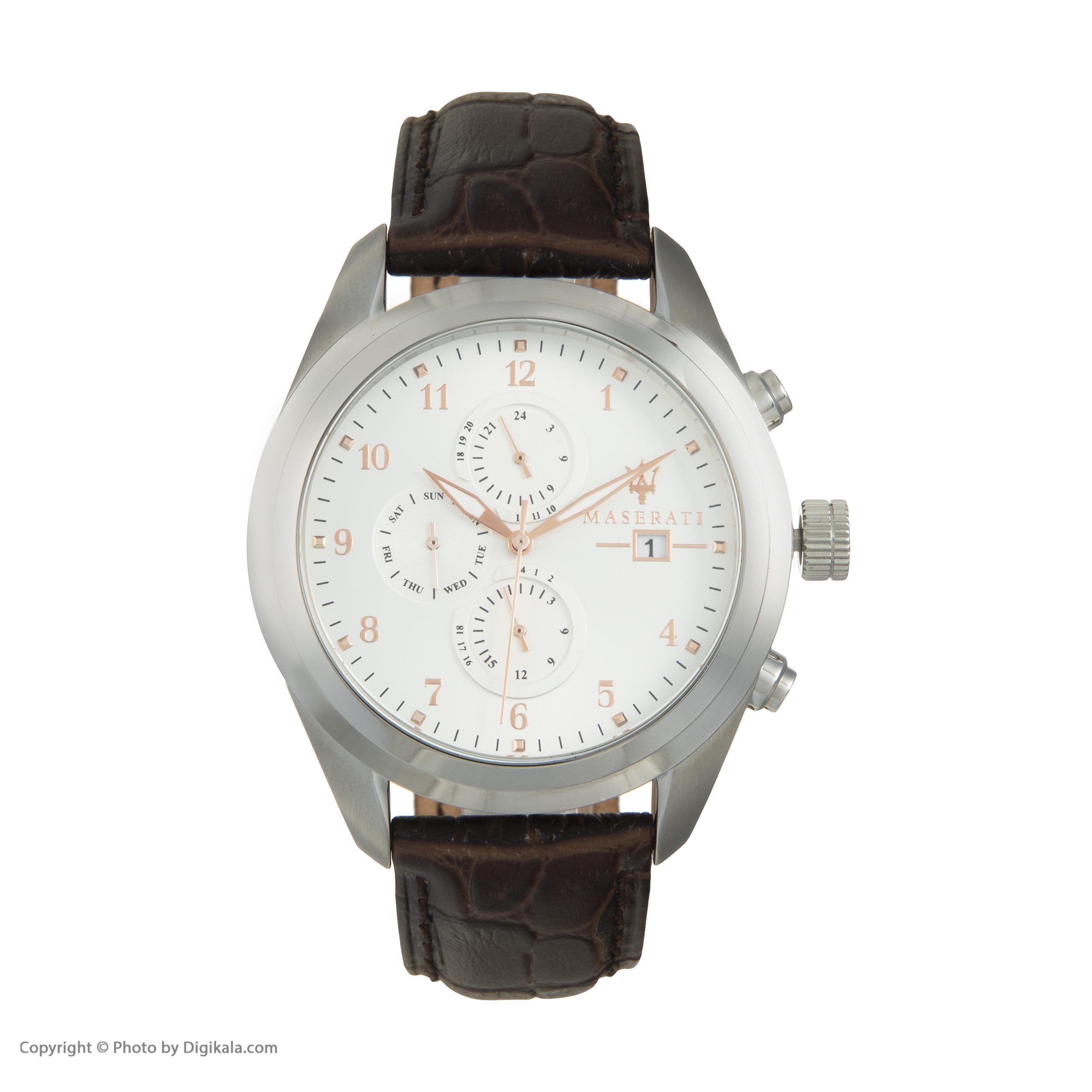 خرید                      ساعت مچی عقربه ای مردانه مازراتی مدل R8871612003