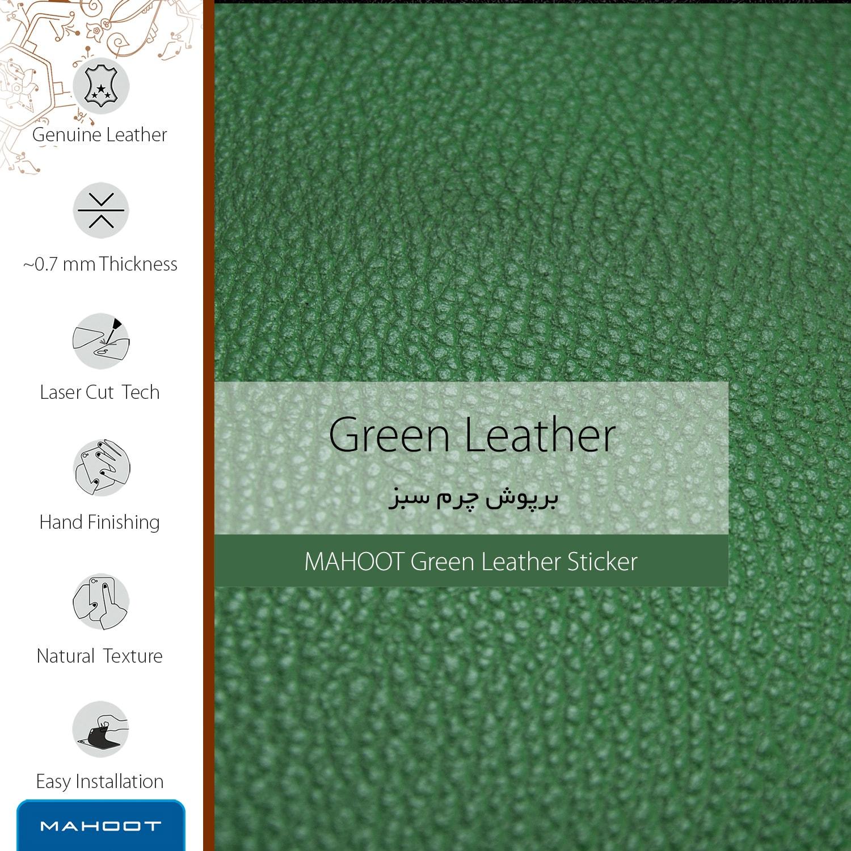 برچسب پوششی ماهوت مدل Green-Leather مناسب برای گوشی موبایل سامسونگ Galaxy J6 Plus