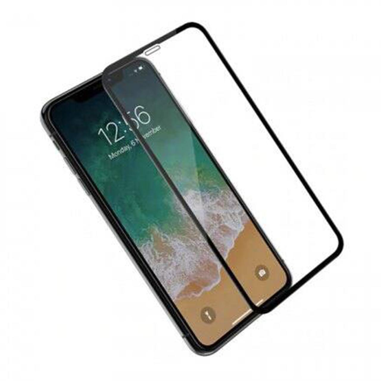 محافظ صفحه نمایش 9D ایبیزا مدل IBI_3 مناسب برای گوشی موبایل اپل Iphone X بسته سه عددی